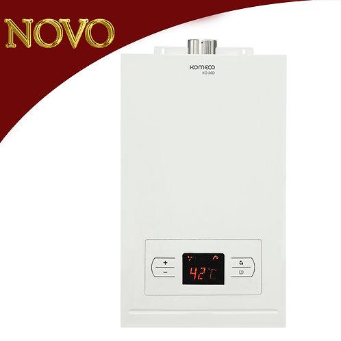 KOMECO - Aquecedor de água a gás, 20 litros, Branco - KO 20D