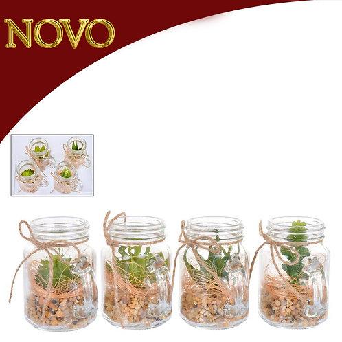 Plantas com potes - 8cm