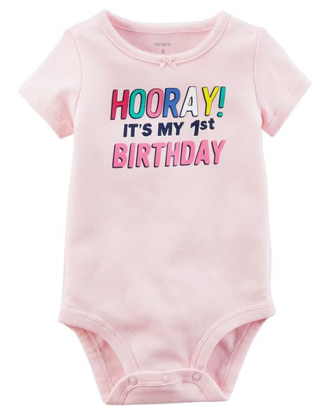 Body baby para menina - CARTER´S