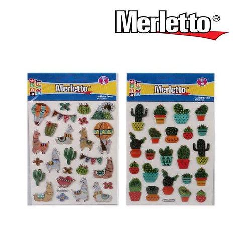 Adesivos cactus/animais
