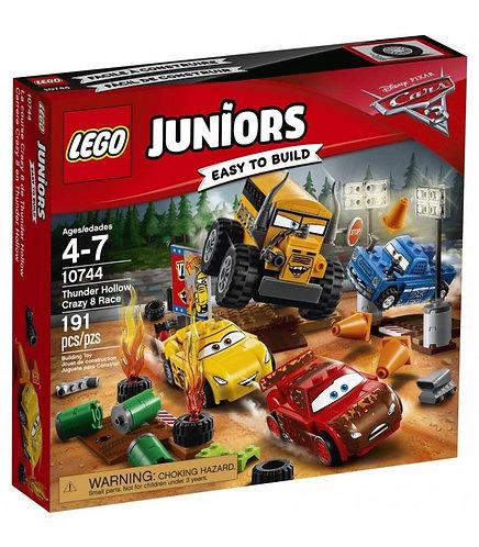 Lego Juniors Corrida Maluca Cars