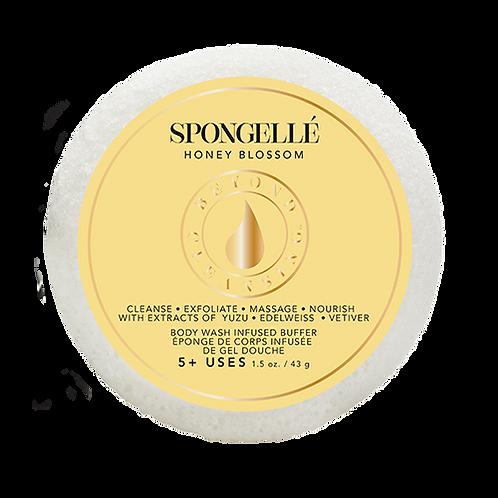 Esponja esfoliante infusa com gel corporal - Spongellé