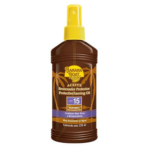 Òleo Protetor Solar UVB FPS 15  BANANA BOAT