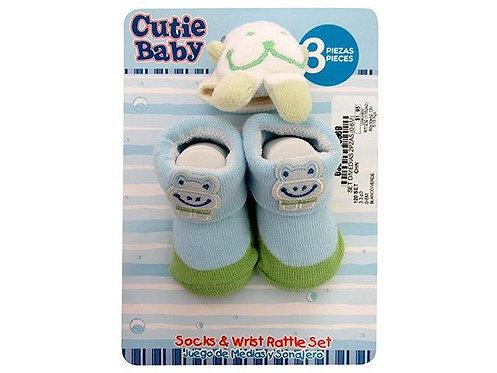 Kit de meias para bebe