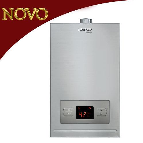 KOMECO - Aquecedor de água a gás, 20 litros, Inox - KO 20DI