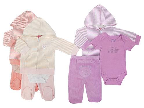 Kit de 3 peças para bebés