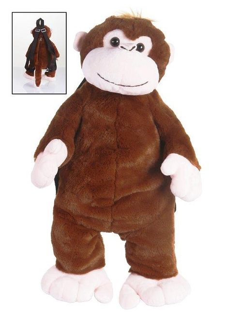 Mochilas 50cm - Macaco/Elefante/Panda/Girafa
