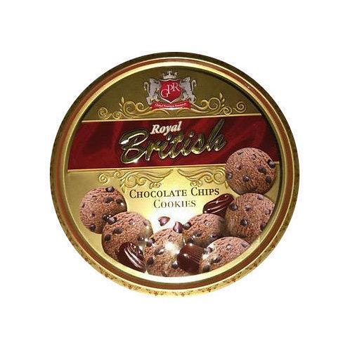 Biscoitos de chocolate 400g - ROYAL BRITISH