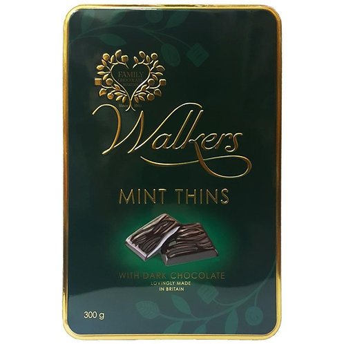Chocolate recheio com menta 300g - Walkers