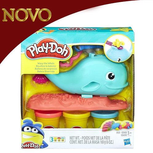 Baleia divertida - Play-Doh