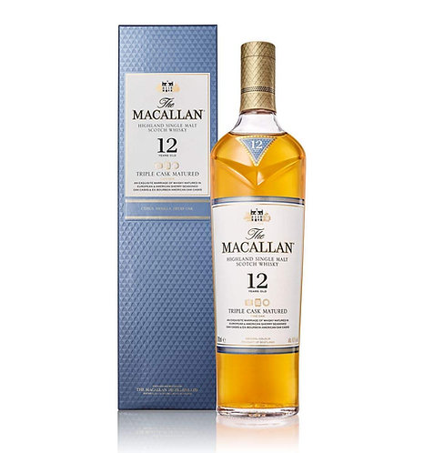 Whisky 12 anos Triple Cask - The Macallan