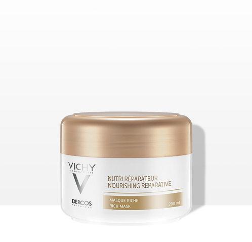 Dercos Nutri-reparador máscara p/cabelo seco a danificado 200ml - VICHY