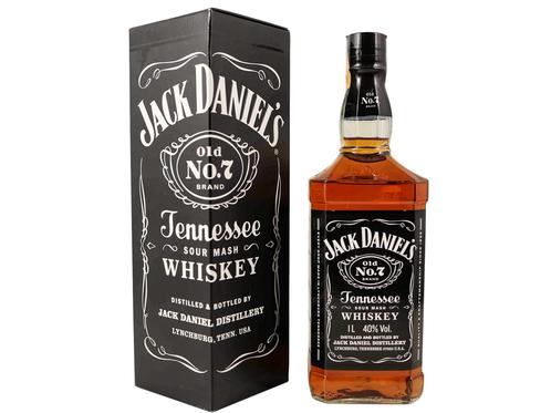 Whisky Jack Daniel's  1lt + Estojo
