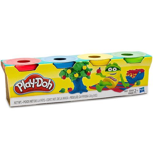 Mini Pack x4 massa para modelar - PLAY-DOH