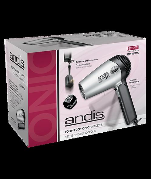 Secador FOLD-N-GO Ionic 110V - ANDIS