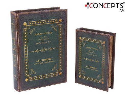 Livro decorativo - 2 peças