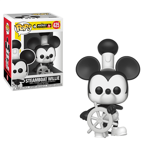 Funko Pop Steamboat Willie