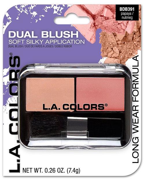 Dual Blush - L.A. Colors