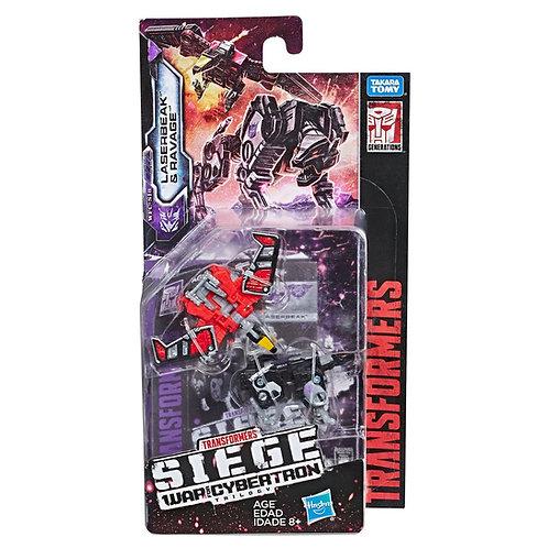 Laserbeak & Ravage - Transformers