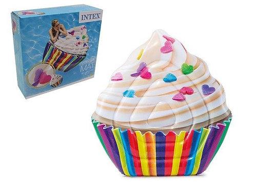 Flutuador inflável cupcake - 142x135cm