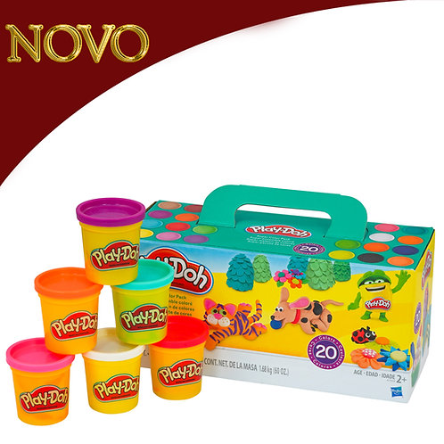Super pacote de cores x20 - Play-Doh
