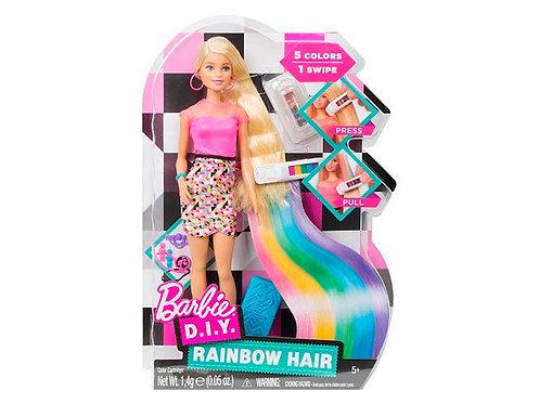 Barbie cabelo arco-iris