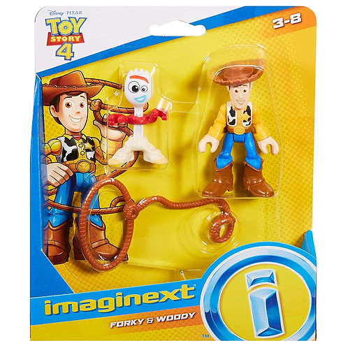 Forky & Woody - Toy Story