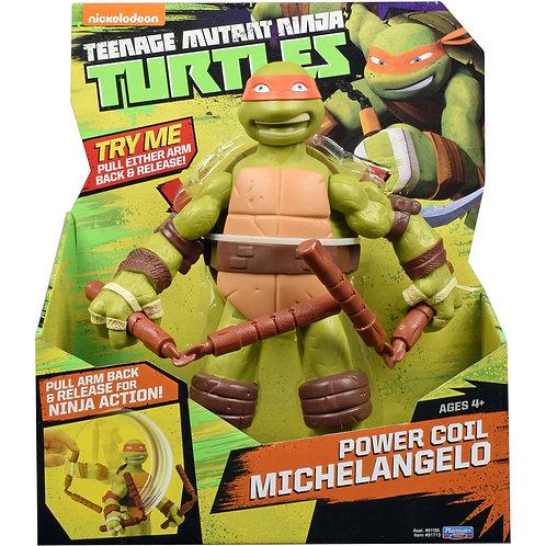 Michelangelo com movimentos de braços