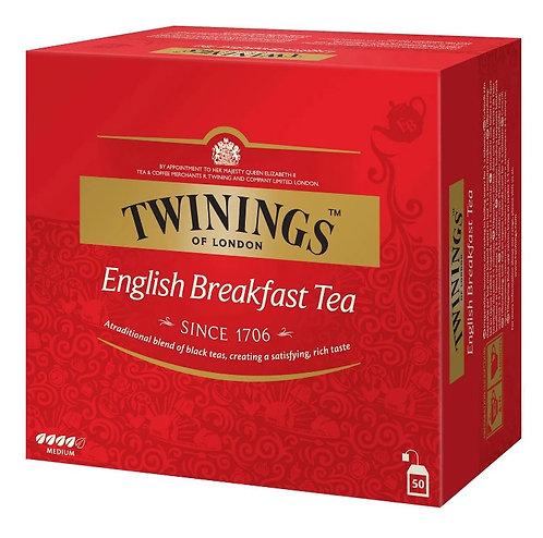 Chá Clássico English Breakfast 50 saquinhos - TWININGS