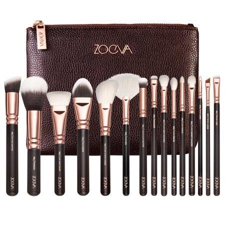 Kit de 15 pincéis para maquiagem - ZOEVA