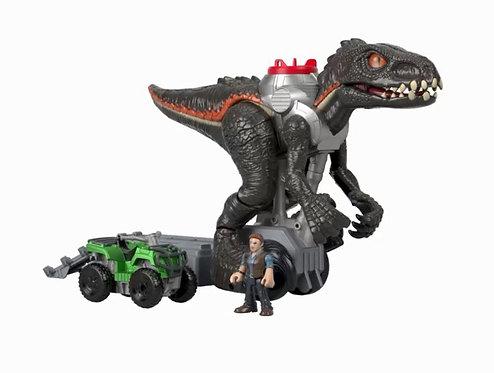Indoraptor Perseguidor Jurassic World - IMAGINEXT