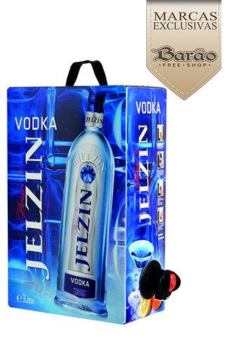 Vodka Jelzin - 3 Litros