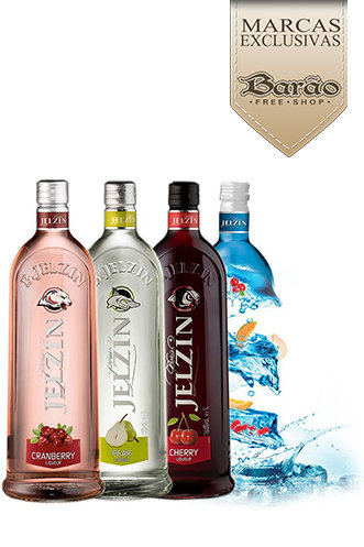 Vodka Jelzin 700ml - Vários Sabores