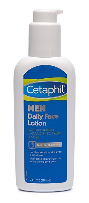 Loção facial diaria masculina SPF15 - CETAPHIL
