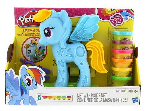 Ponei e penteados - Play-Doh