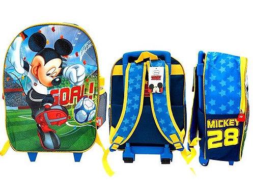 Mochila c/rodinhas - Mickey