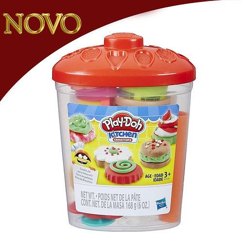 Pote de biscoitos - Play-Doh