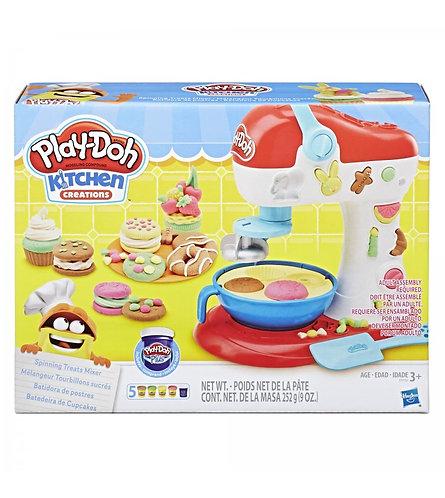 Batedeira de cupcakes - Play-Doh