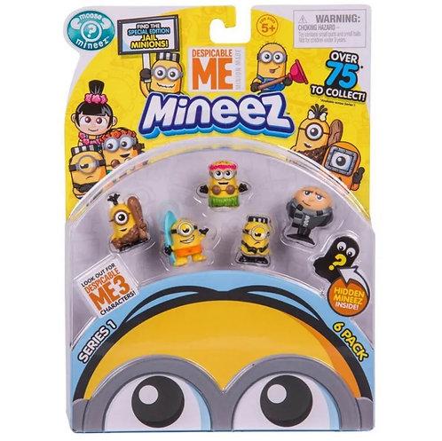 Pack x6 Mini Minions