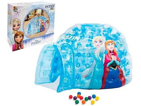 Iglú/Castelo inflável Frozen