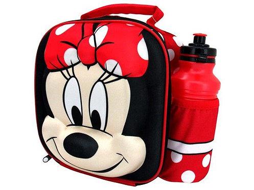 Lancheira Minnie ou Mickey 25 x 20.5 x 8cm