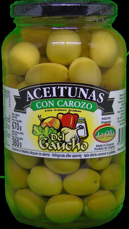 DEL GAUCHO Azeitonas com caroço