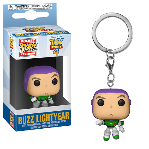 Funko Pop Chaveiro Buzz Lightyear