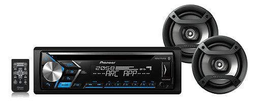 Pacote completo de audio automotivo DXT-S406BT - PIONEER