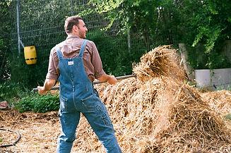 L'homme avec Hay