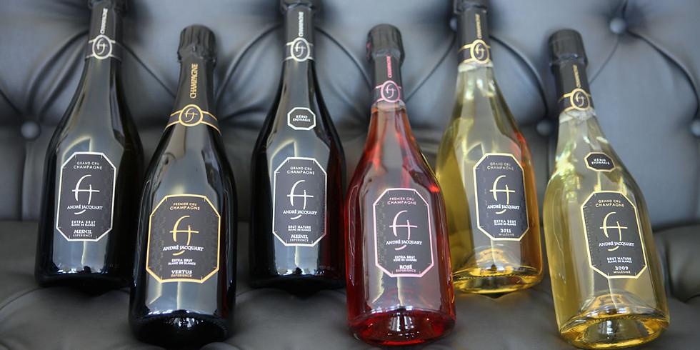 André Jacquart Champagnesmagning