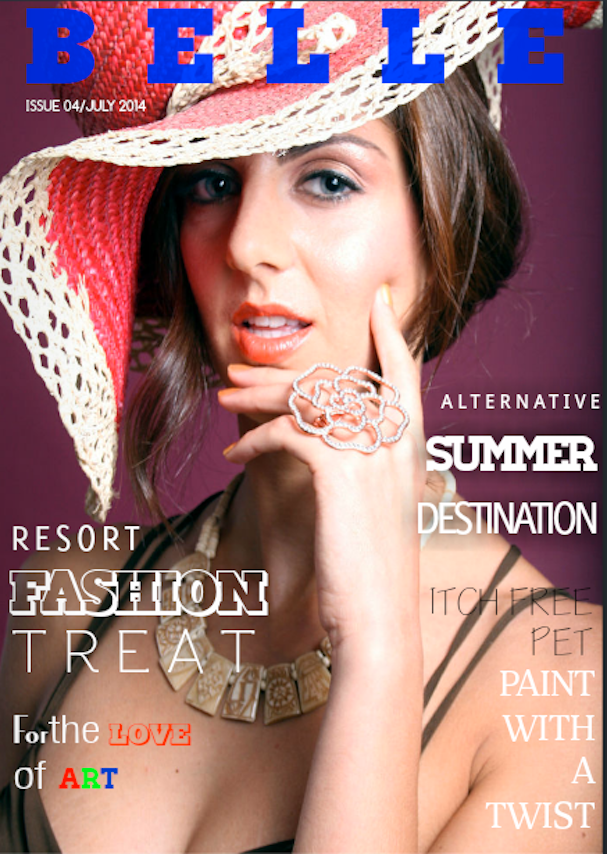 BELLE JULY 2014 ISSUE