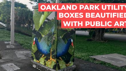 Public Art in Oakland Park