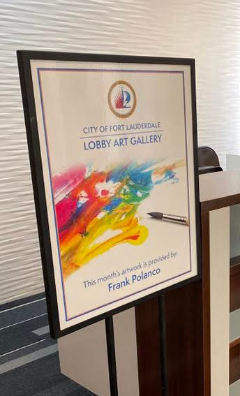 Feathers Exhibt at Fort Lauderdale City Hall Lobby Art Gallery