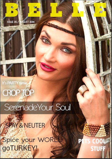SERENADE YOUR SOUL AUGUST ISSUE